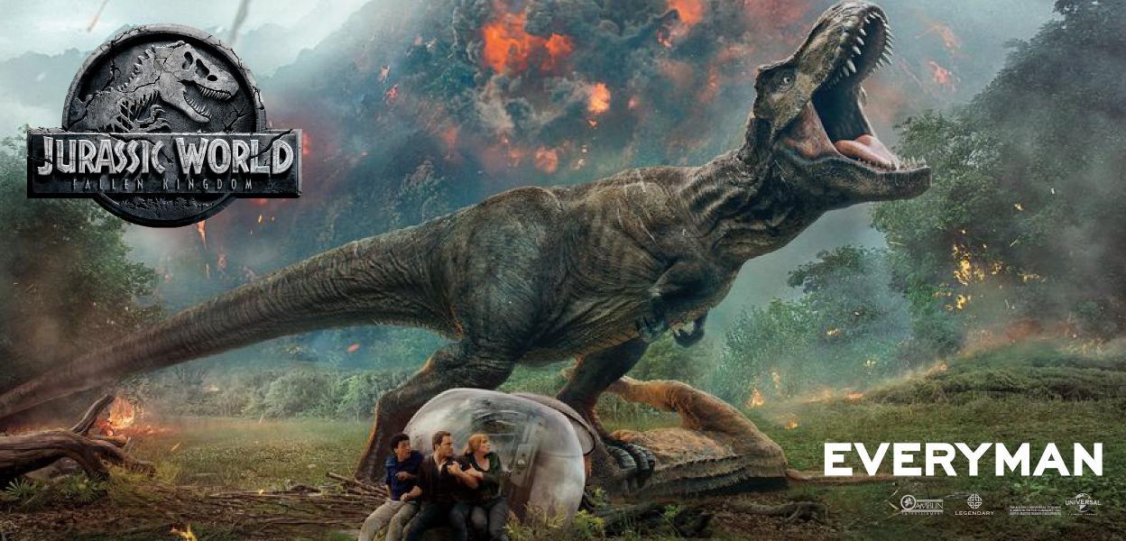 Jurassic World: Fallen Kingdon in Leeds Everyman
