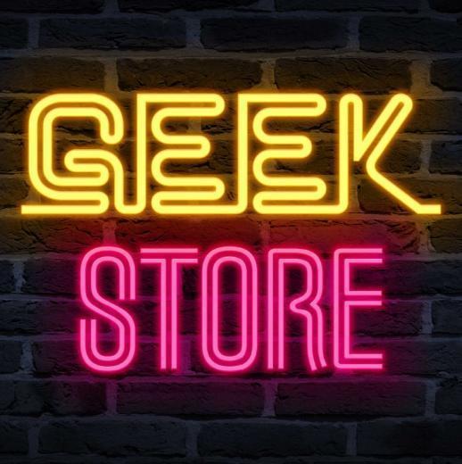 The Geek Store at BLX BLX logo