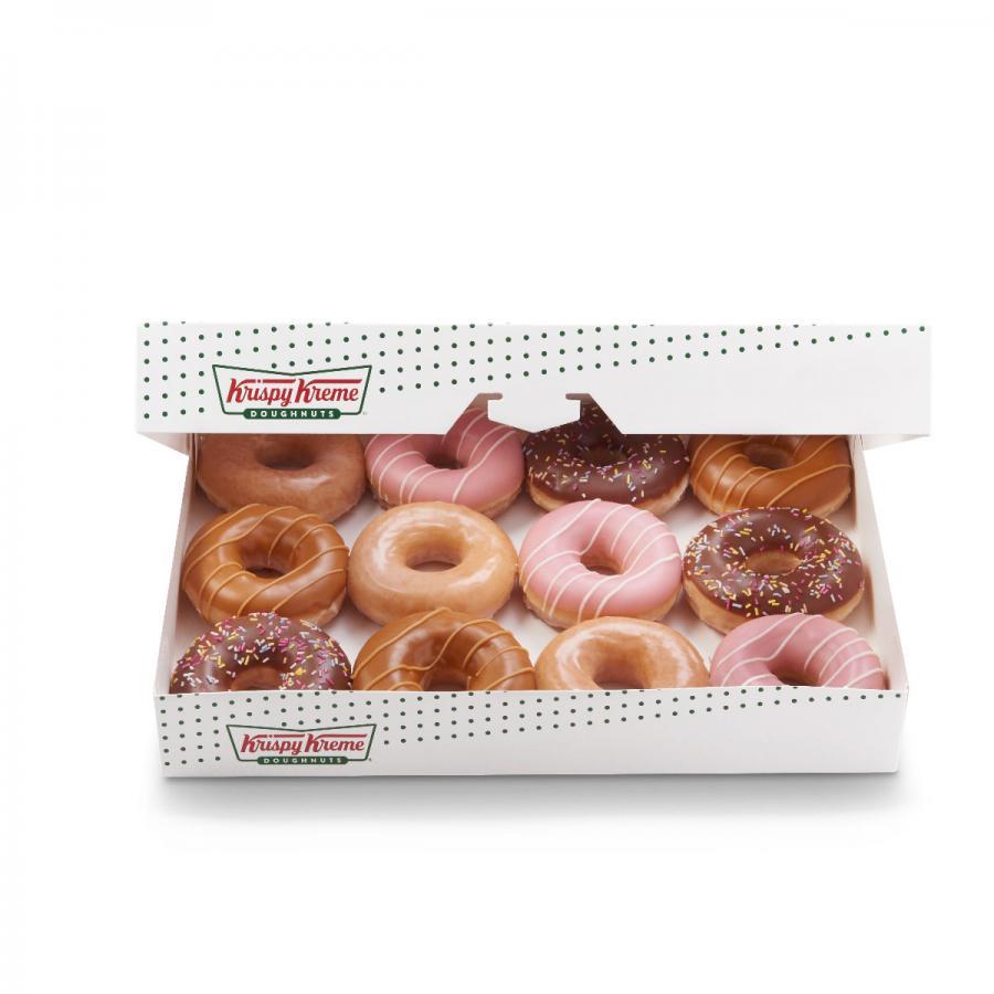 Krispy Kreme assorted dozen