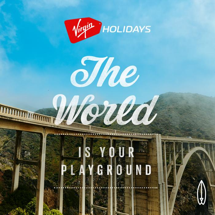 Virgin Holidays the world is your playground