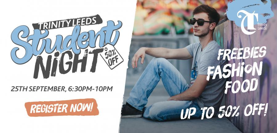 Trinity Leeds Student Night