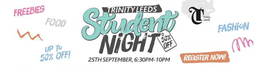 Trinity Leeds Student Night 2018