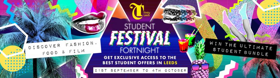 Leeds student festival fortnight