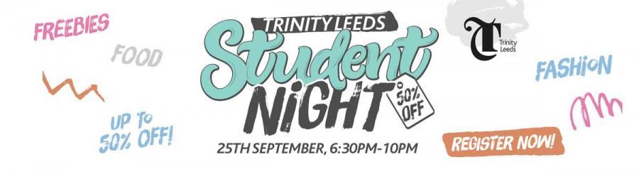 Trinity Leeds Student Night
