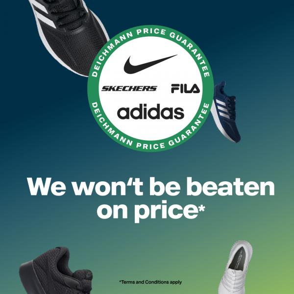 cheap for discount d01a2 7ba93 Deichmann's Price Guarantee on branded trainers | Trinity Leeds