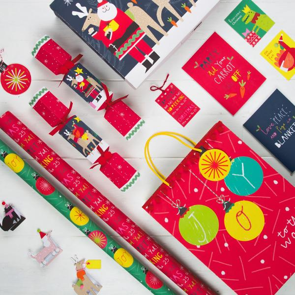 Wrapping paper at M&S