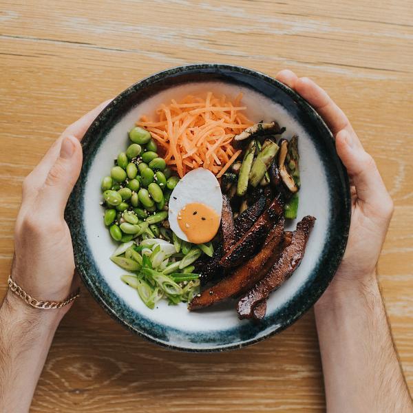 Wagamama vegan lunch