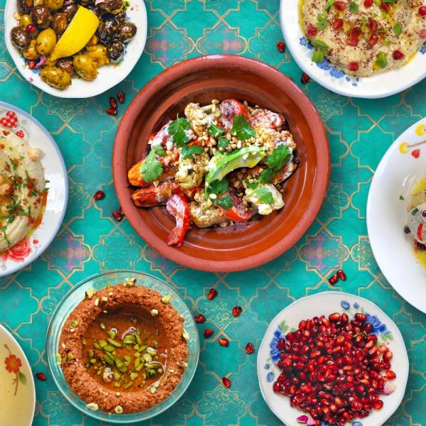 Eat out to help out at Comptoir Libanais